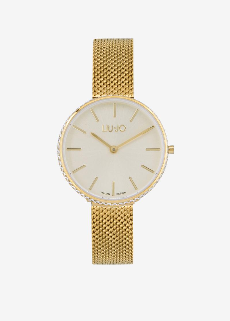 Orologio-'Glamour-Globe'-Gold