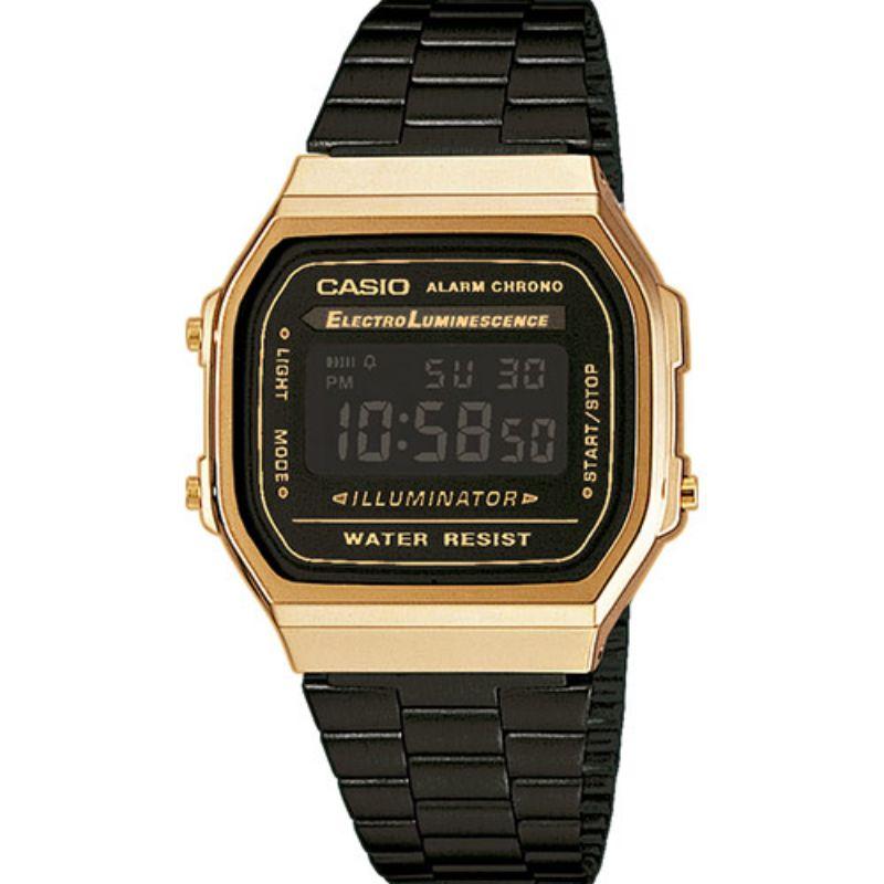 Casio-Orologio-Digitale-nero/oro