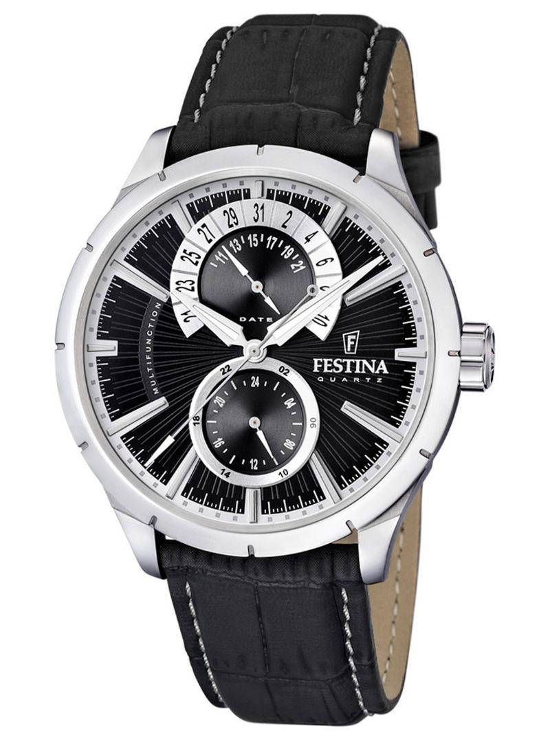 Festina-Orologio-con-Cinturino-in-Pelle-F16573/3-