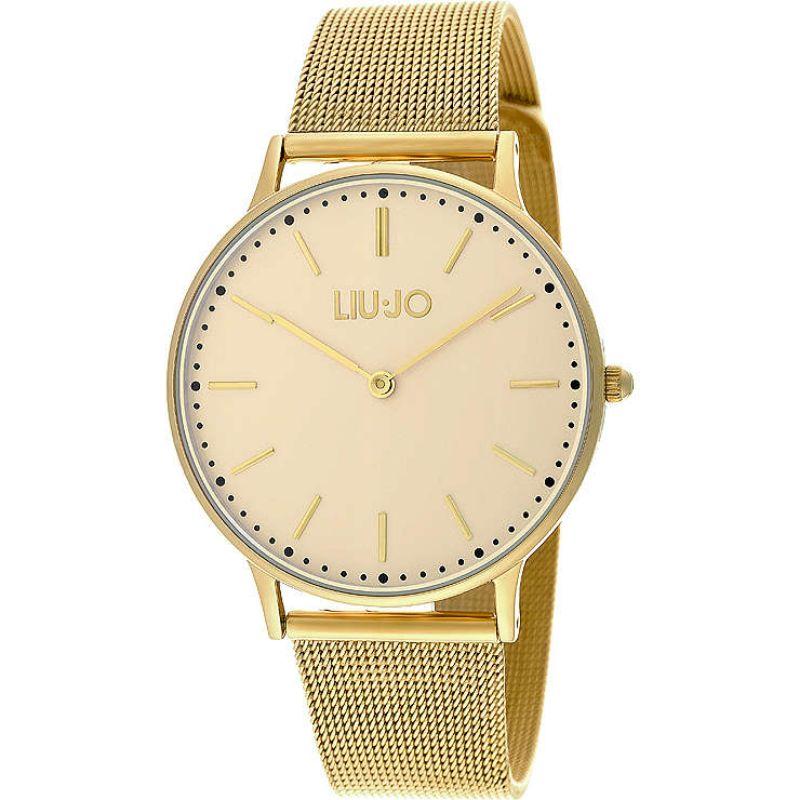 Liu-Jo-Orologio-Solo-Tempo--Da-Donna-Dorato-Time-Collection